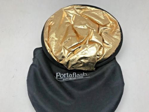 "Lastolite Type 36"" Multi Cover reflector portalite folding disc in carry bag"